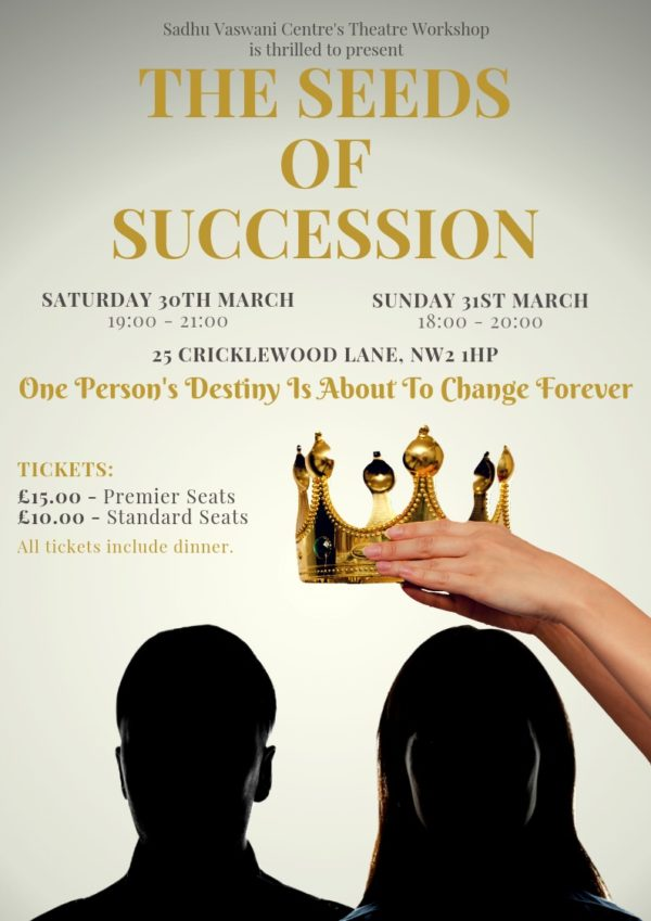 The seeds of succession play at Sadhu Vaswani UK